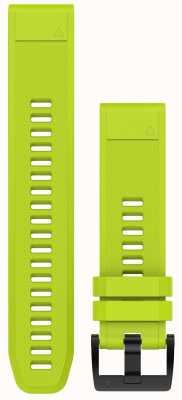 Garmin Amp Yellow Strap QuickFit 22mm Fenix 5 / Instinct 010-12496-02