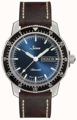 Sinn 104 St Sa I B | Dark Brown Vintage Brown Leather Strap 104.013 DARK BROWN VINTAGE LEATHER