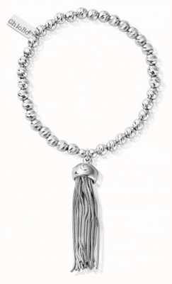 ChloBo Women's   Sparkle Ball Tassel   Bracelet SBSBP935