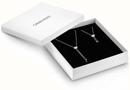 Calvin Klein | Valentine's Day Set | Necklace And Bracelet | KJ9999999974