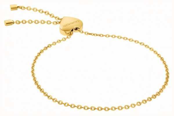 Calvin Klein   Womens Side Bracelet   PVD Yellow   KJ5QJB100100