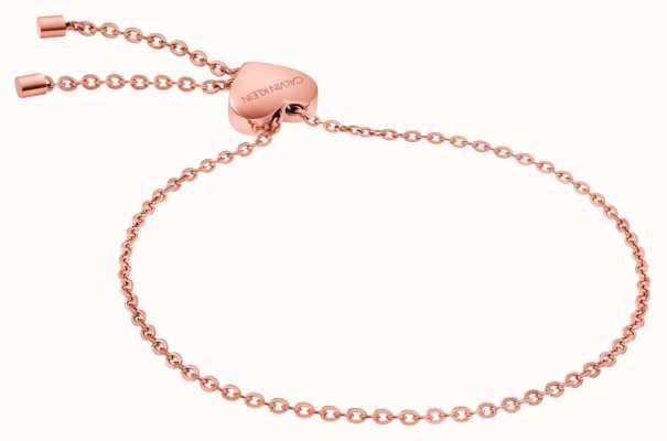 Calvin Klein   Womens Side Bracelet   PVD Rose Gold   KJ5QPB100200