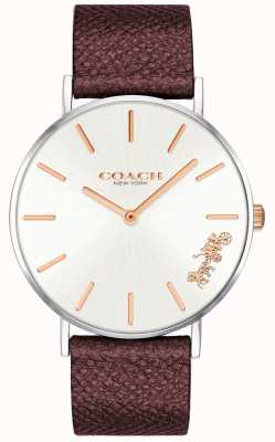 Coach | Womens Perry Watch | Red Leather Strap | 14503154