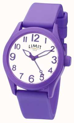 Limit | Purple Silicone Strap | White Dial | 5722