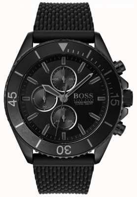 Boss | Mens Ocean Edition | Black Dial | Black Strap | 1513699