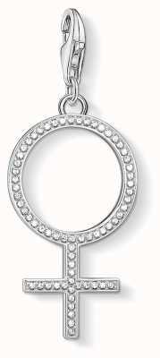 Thomas Sabo | Venus Symbol Charm | Sterling Silver | Zirconia | 1751-051-14