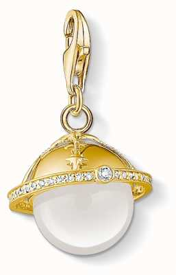 Thomas Sabo | Golden Planet Charm | Gold Plated Sterling Silver | 1755-903-14