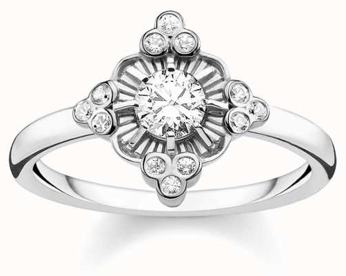 Thomas Sabo | Sterling Silver Glam And Soul Royalty Ring | TR2221-643-14-54