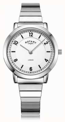 Rotary   Ladies Stainless Steel Bracelet   LB00765/18