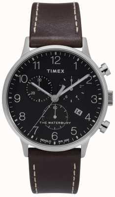 Timex | Mens Waterbury Classic Chrono | Black Dial | TW2T28200D7PF