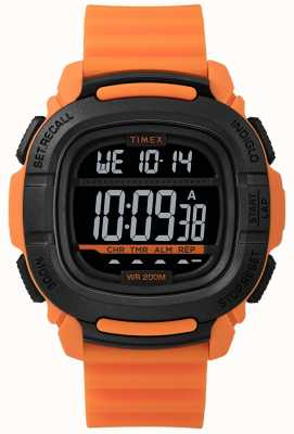 Timex | Boost Shock Orange And Black Digital | TW5M26500SU