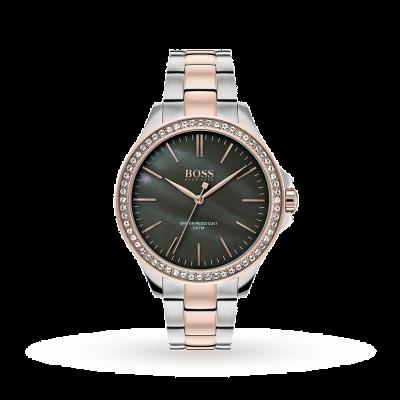 Boss | Womens Two Tone Stainless Steel Bracelet | 1502452