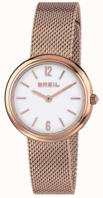 Breil | Ladies Iris Rose Gold Mesh Strap | TW1778