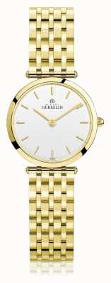 Michel Herbelin | Womens | Epsilon | Extra Flat Gold PVD Bracelet | 17116/BP11