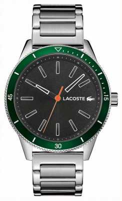Lacoste | Mens Key West | Stainless Steel Bracelet | Grey Dial | 2011009