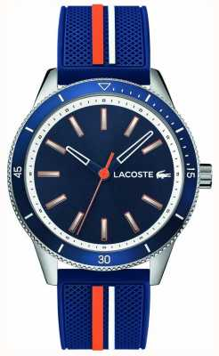 Lacoste | Mens Key West | Blue Silicone Strap | Blue Dial | 2011007