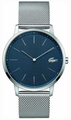 Lacoste | Mens Moon | Steel Mesh Bracelet | Blue Dial | 2011005