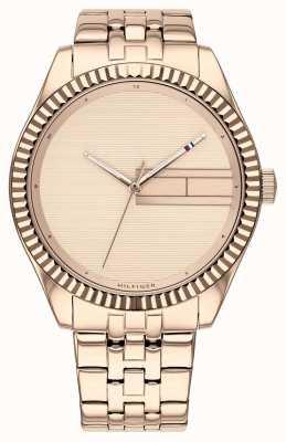 Tommy Hilfiger | Women's Rose Gold Stainless Steel Bracelet | Rose Gold Dia 1782082