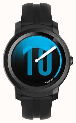 TicWatch E2 | Shadow Smartwatch | Black Silicone Strap 131586-WG12026-BLK