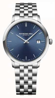 Raymond Weil | Mens Toccata | Classic Stainless Steel | Blue Dial | 5485-ST-50001
