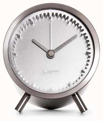 Leff Amsterdam | Tube Clock | Stainless Steel | LT70001