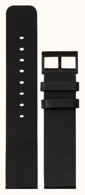 Leff Amsterdam | Black Leather Strap | Black Buckle | LT75012-STRAP