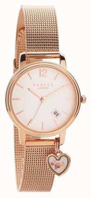 Radley | Womens Rose Gold Mesh Bracelet | Rose Gold Dial | RY4390