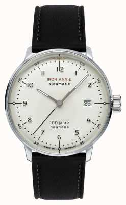 Junkers | Iron Annie | Bauhaus | Automatic | Black Leather Strap | 5056-1