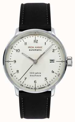 Junkers Iron Annie | Bauhaus | Black Leather Strap 5056-1