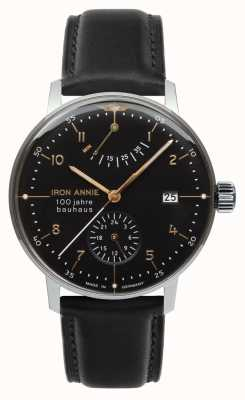 Junkers | Iron Annie | Bauhaus | Automatic | Power Reserve | Black | 5066-2