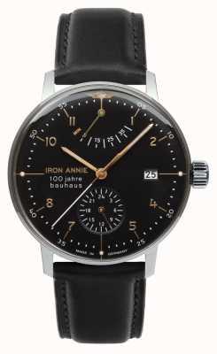 Junkers Iron Annie | Bauhaus | Power Reserve | Black Dial 5066-2