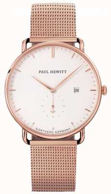 Paul Hewitt Grand Atlantic Mesh strap watch PH-TGA-R-W-4S