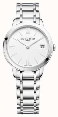 Baume & Mercier | Womens Classima | Stainless Steel Bracelet | White Dial | M0A10335