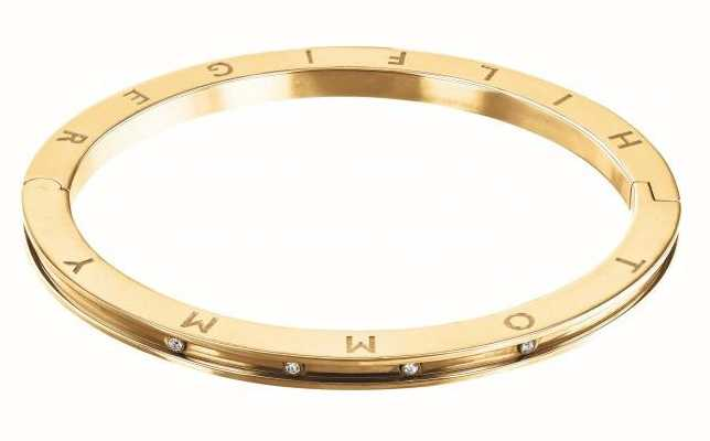 Tommy Hilfiger Dressed Up | Crystal Set | Gold Plated Bangle 2780203