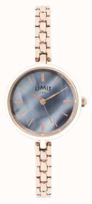 Limit | Womens Rose Gold Bracelet | Blue Dial | 60064.01