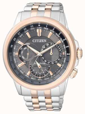 Citizen   Mens Eco-Drive   Stainless Steel Bracelet   BU2026-65H