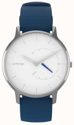 Withings Move Timeless Chic - White, Blue Silicone HWA06M-TIMELESS CHIC-MODEL 2-RET-INT