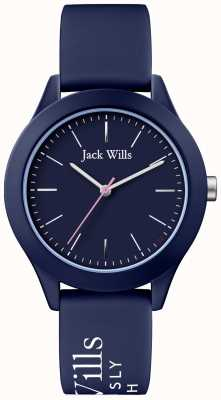 Jack Wills | Womens Union | Navy Dial | Navy Silicone Strap | JW009NVBL