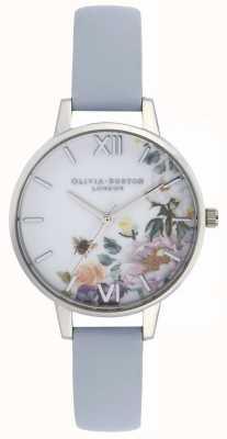 Olivia Burton | Womens | Enchanted Garden | Chalk Blue Strap | OB16EG114