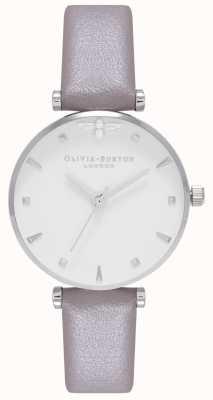 Olivia Burton Womens | Queen Bee | Grey Strap OB16AM144