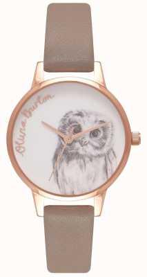 Olivia Burton Womens |owl Motif | Iced Coffee Strap OB16AM110