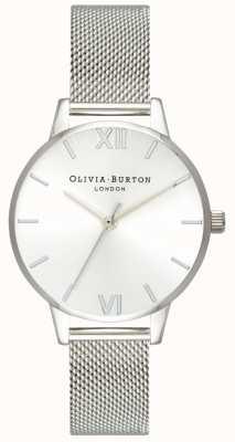 Olivia Burton   Womens   Sunray Midi Dial   Steel Mesh Bracelet   OB16MD86