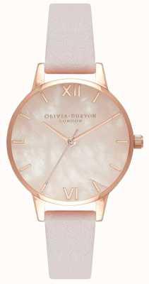 Olivia Burton Womens | Semi Precious Dial | Blossom Strap OB16SP02