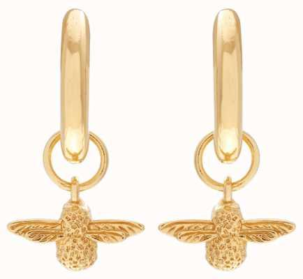 Olivia Burton | 3D Bee | Gold | Huggie Hoop Earrings | OBJ16AME34