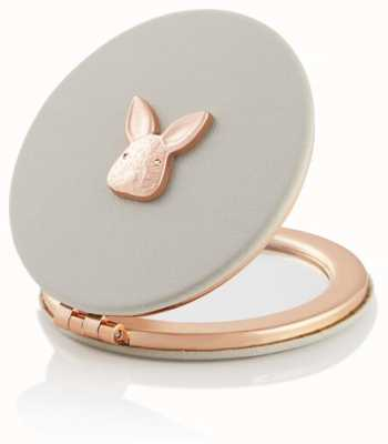 Olivia Burton | 3D Bunny | Grey and Rose Gold | Compact Mirror | OBACS56