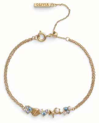 Olivia Burton | Under The Sea | Gold | Chain Bracelet | OBJSCB02