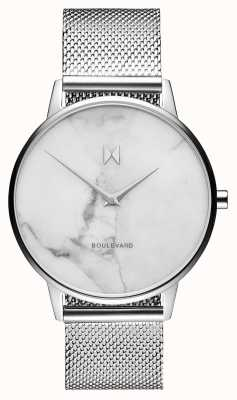 MVMT Boulevard Venice Marble | Stainless Steel Mesh | Marble Dial D-MB01-SMA