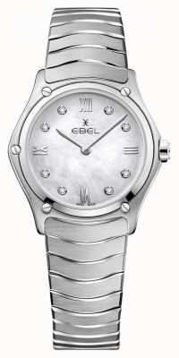 EBEL Womens Sport Classic | Mother Of Pearl Dial | Diamond Set | 1216417A