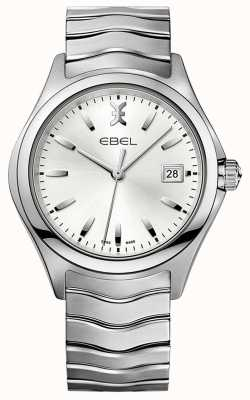 EBEL | Mens Wave | Stainless Steel Bracelet | Silver Dial | 1216200