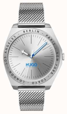 HUGO #Act | Stainless Steel Mesh | Silver Dial 1530107